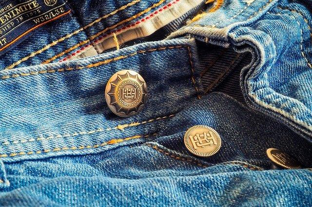 Ремонт потёртостей на джинсах